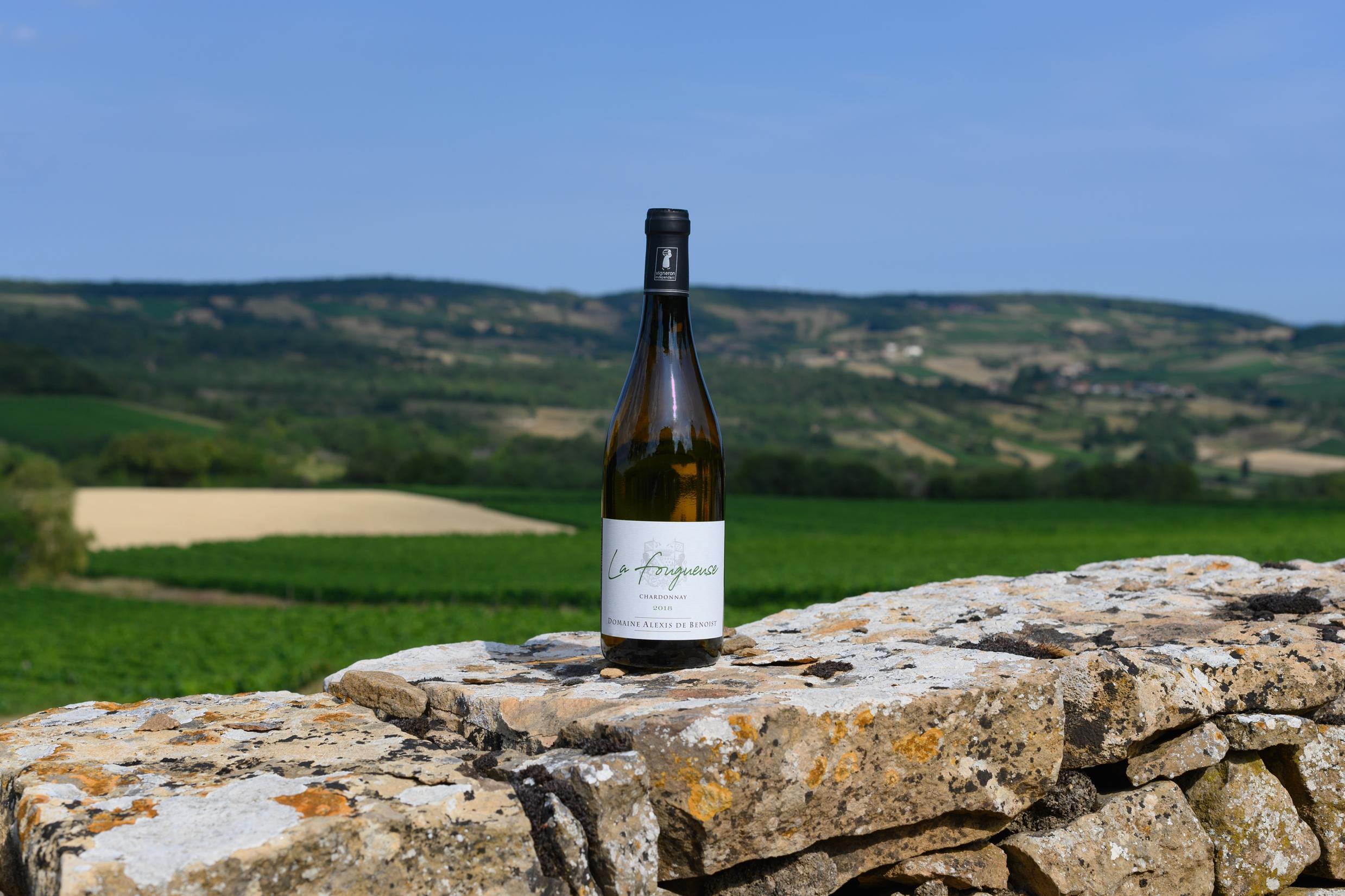 Bouteille La Fougeuse Mâcon-Villages Pierres et Vignes Alexis de Benoist