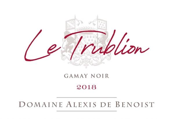 Le Trublion Beaujolais-Villages 2018 Domaine Alexis de Benoist